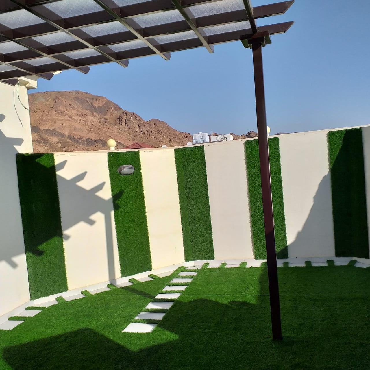 تصميم حدائق منزليه بالمدينة