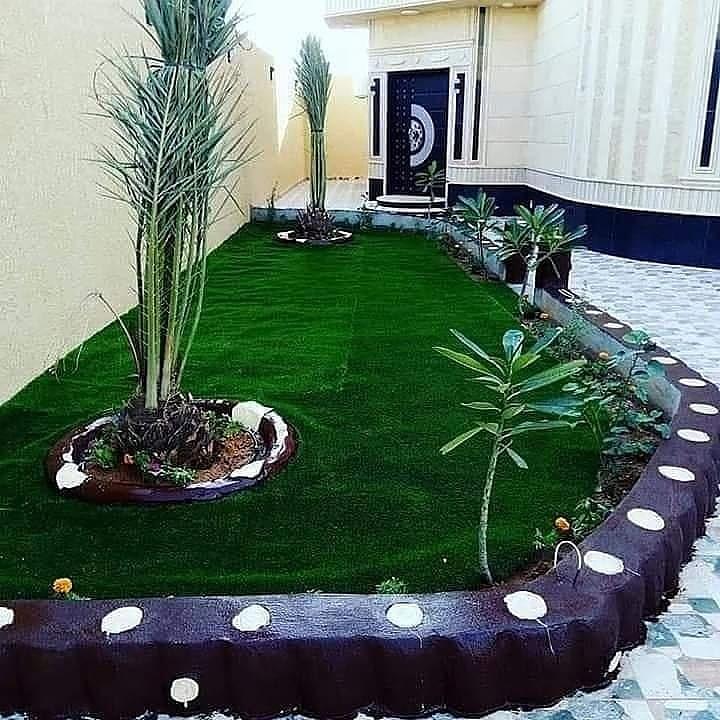 تركيب وتنفيذ عشب صناعي بالمدينة